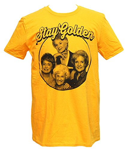 Men's Stay Golden Girls Circle Image Tee, Officially Licensed, S to 2XL