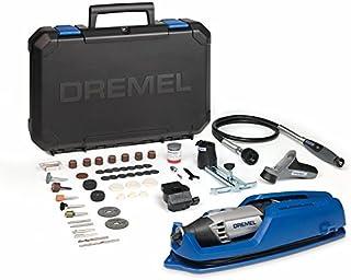 comprar comparacion Dremel 4000 - Multiherramienta, 175 W, kit con eje flexible, 65 accesorios y 4 complementos, velocidad variable 5.000 - 35...