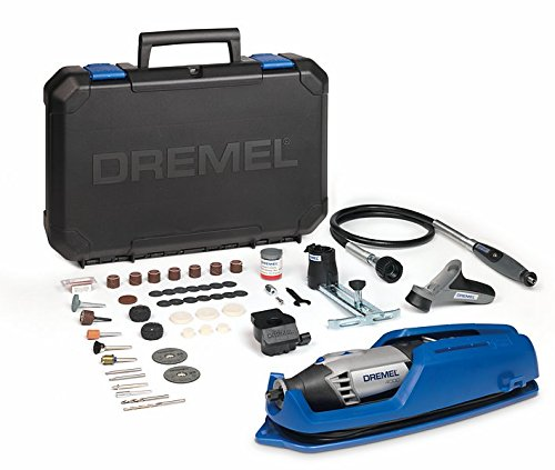 Dremel 4000 - Multiherramienta, 175 W, kit con eje flexible,