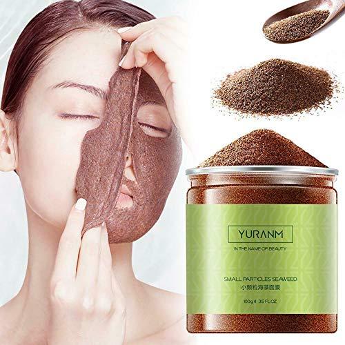 DIY Face Mask Seaweed Hydration Facial Mask, 100g Natural Seaweed Face Mask Algae Powder, Moisturizing Skincaren Mask Perfect For Body Wraps and Facials Natural Pure Oil-control Facial Mask