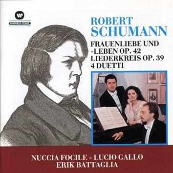 Frauenliebe und -leben Op. 42 / Liederkreis Op. 39 / 4 Duetti