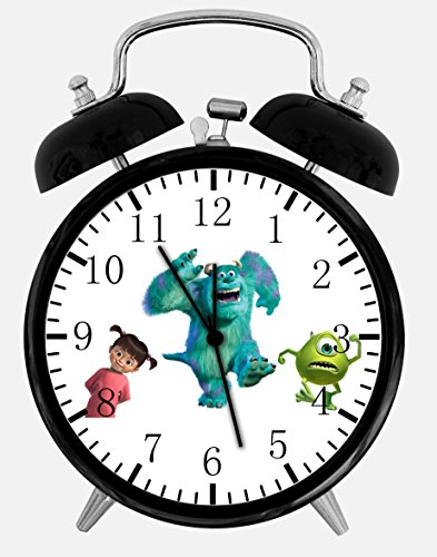 Disney Monsters, Inc. A461 Wecker/Tischuhr, 9,5 cm