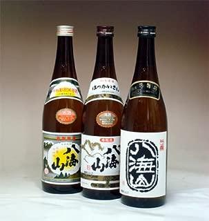 八海山 清酒・本醸造・吟醸 720ml のみ比べセット
