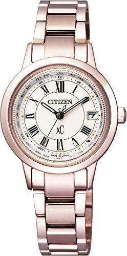 [シチズン]CITIZEN腕時計xCクロスシーティタニアラインハッピーフライトエコ・ドライブ電波時計サクラピンクEC1144-51Wレディース