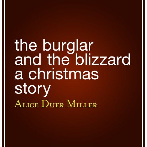 The Burglar and the Blizzard  audiobook cover art