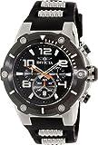 Invicta 17202 Mens Speedway Quartz Chronograph Black Dial Watch