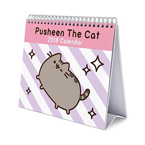 Grupo Erik Editores Calendario Sobremesa Deluxe 2018 Pusheen The Cat