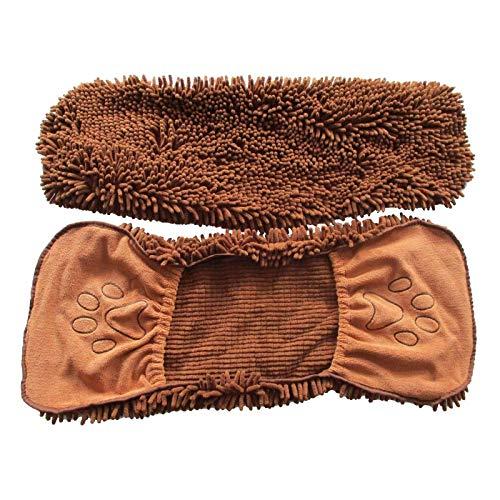 Wlqeri Suministros de Toallas para Mascotas, Toalla de felpilla de Microfibra, toallita para Manos Bordada, Guantes para Mascotas, Toalla Limpia