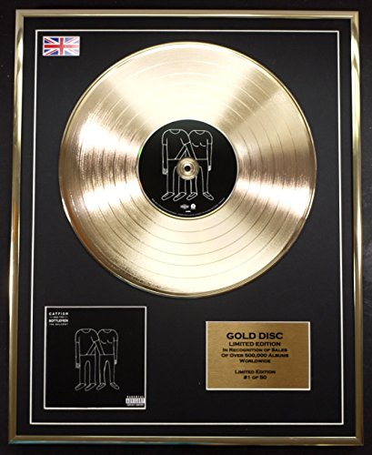 CATFISH AND THE BOTTLEMEN/Cd Gold Disc Record Limited Edition/THE BALCONY