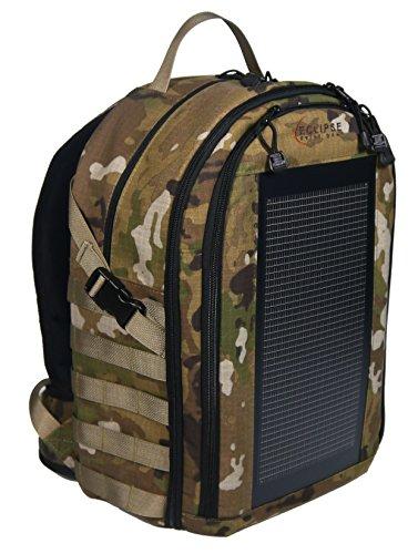 The Bugout Solar Backpack - MOLLE, OCP Camo