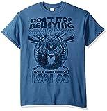 FEA Men's Journey Don't Stop T-Shirt, Indigo, X-Large