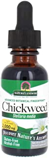 Sponsored Ad - Nature's Answer Chickweed Stelleria Media 2000mg - Herbal Supplement - Non GMO & Kosher - Alcohol Free Glut...