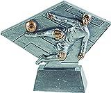 Art-Trophies AT8138 Trofeo Deportivo, Plateado, Talla Única