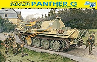 Dragon Models 1/35 Sd.Kfz. 171 Panther G Late Production Smart Kit