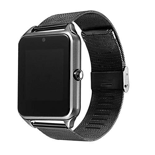 Novopus braccialetto intelligente:GT09 per iOS/Android Pedometro/Localizzatore di attività/Monitoraggio del Sonno/Promemoria sedentario / 2 MP/Sensore di gravità/Sensore per Dito:Argento