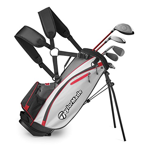 TaylorMade Complete Youth Set W Bag Phenom K50 8Pc/RH S (Unisex, , Graphite Hybrids with Steel Irons)