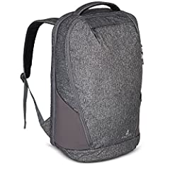 Faroe is a 22x14x9 carry on backpack, compatible with most airlines overhead locker restrictions Made from durable, lightweight and waterproof materials, Faroe is an excellent choice as a backpack for Europe travel Pull-tab access to your laptop/note...