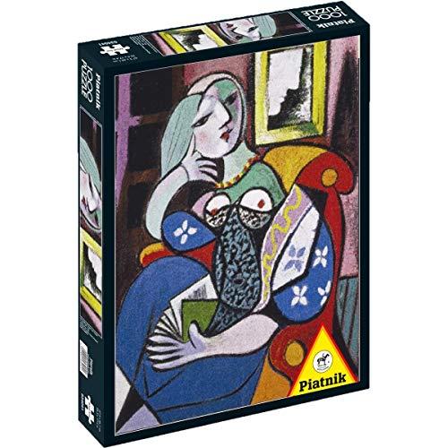 Piatnik 5341 Picasso - Puzzle de Mujer con Libro (1000 Piezas)
