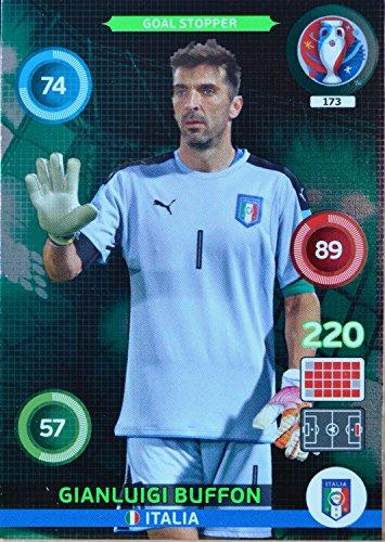 carte PANINI EURO 2016 #173 Gianluigi Buffon