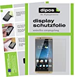 dipos I 2X Schutzfolie matt kompatibel mit ZTE Axon 7 Folie Bildschirmschutzfolie