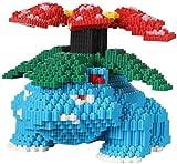Haojie Bâtiment Pokemon Model Building Building Block Set DIY Jouets 3D Puzzle DIY Jouet pédagogique Meilleur Cadeau pour Enfants-Bleu