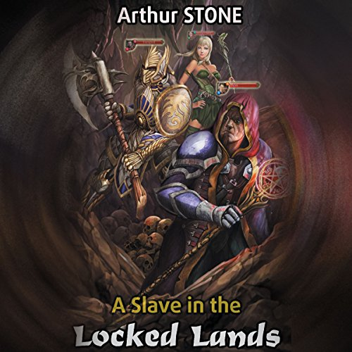 A Slave in the Locked Lands audiobook cover art