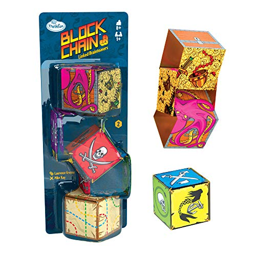 Block Chain (Pirates) STEM Toy and Logic Game for Boys and Girls Age 8 and Up – The Addictive Brainteaser Puzzle