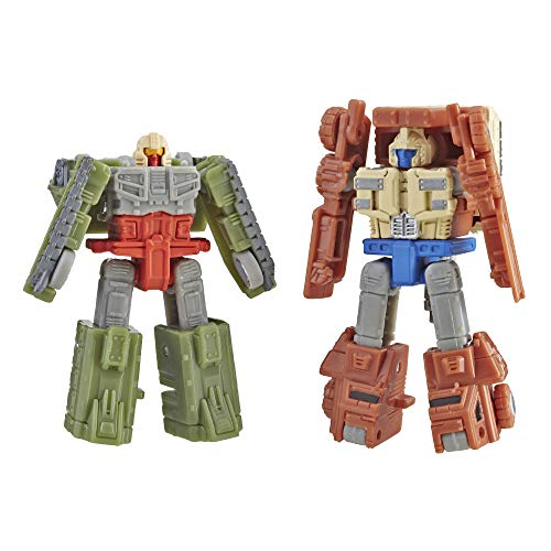 Transformers Generations War for Cybertron: Siege Micromaster Wfc-S6 Autobot Battle Patrol 2 Pack Action Figure Toys