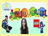 Clip: Lego Duplo Number Train unboxing with Princess Toy Review! Learn to Count Numbers!
