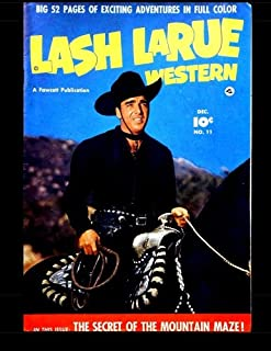 Lash Larue Western #11: Classic Western Comics from the 1950s