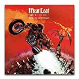 Meat Loaf Fledermaus Out Hell 1977 Albumcover-Poster,