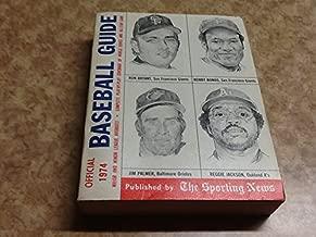Official Baseball Guide for 1974