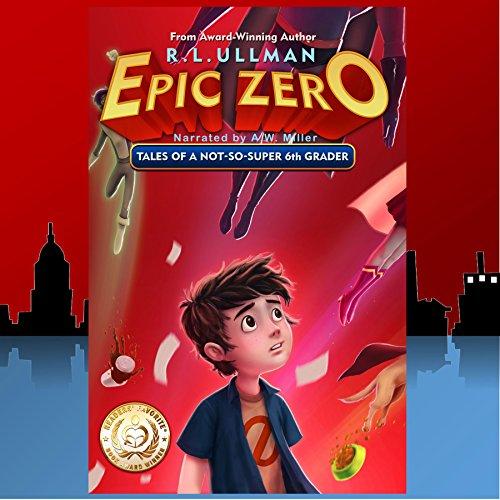 Epic Zero audiobook cover art