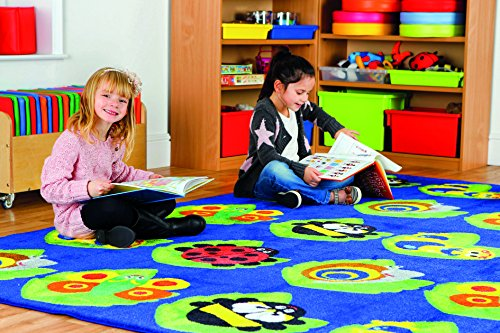 Babt Juvenile and Game room-Animal Sounds 31.5x48 J /& M Home Fashions 10594A 31.5x48 Toddler Perfect Carpet for Children Bedroom Playroom Nursery room Playmat Play Rug Educational Area Rug for Kids