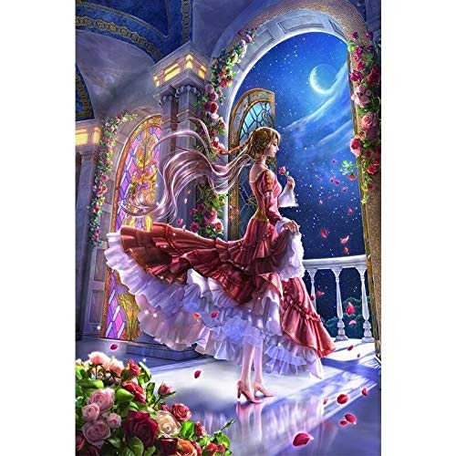 WUJINJ Creative stripfiguren 1000 Stuks Adult Toy puzzel for kinderen puzzel Decoration Painting Woondecoratie Gift-Mermaid schilderij van Josephine Wall (Color : A)
