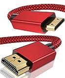 Elebase Mini HDMI to HDMI Cable 6.6 FT,4K 60Hz Mini HDMI Cord Compatible for DSLR Camera,Camcorder,Graphics Video Card,Laptop,Pico Projector,Raspberry Pi Zero W,Neogeo