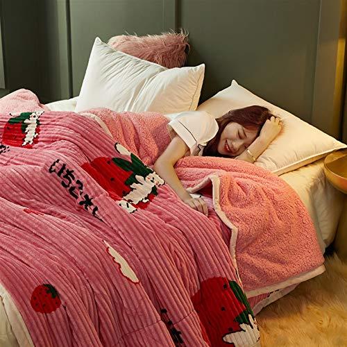 LJHSS Flauschige Decken, Fleecedecke, Weiche, Flauschige Überwürfe Für Sofas, Große Plüschdecken Mit Doppel- / Einzelbett, Waschbare Dekorative, Warme, Zottelige Decke Für Das Sofastuhlbett