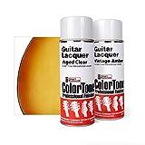 ColorTone Tinted Aerosol Guitar Lacquer Antique Sunburst Spray Set
