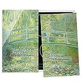 Bilderwelten Cubre encimeras para Cocina Claude Monet - Japanese Bridge, 60x52 cm