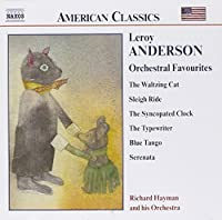 Orchestral Favourites by ANDERSON (2002-03-05)