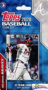 Atlanta Braves 2020 Topps Baseball EXCLUSIVE Special Limited Edition 17 Card Complete Factory Sealed Team Set with Ronald Acuna Jr, Ozzie Albies, Freddie Freeman & Many More Stars & Rookies! WOWZZER!