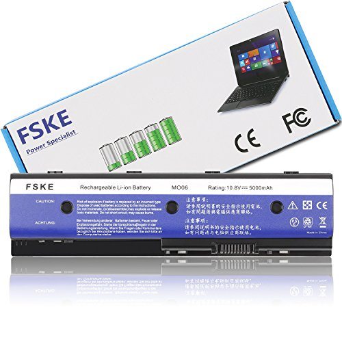 FSKE® MO06 HSTNN-YB3N 671731-001 HSTNN-LB3N Akku für HP Pavilion DV7-7000 DV6-7000 DV4-5000 Envy M6 Serie Notebook Battery, 6 Zellen 10,8V 5000mAh