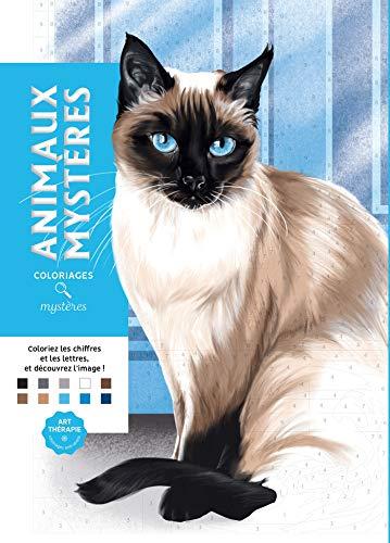 Coloriages mystères Animaux mystères: 100 coloriages mystères