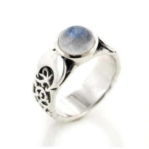 Rainbow Moonstone 925 Silver Overlay New Designer 10 pcs Ring bLot-10