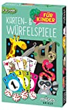 Moses 90293 Karten- und Würfelspiele für Kinder   Spielesammlung mit 18 Spielen   Für 44294 Jahre