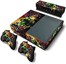 FriendlyTomato Xbox One Console and 2 Controllers Skin Set - SuperHero - XboxOne Vinyl