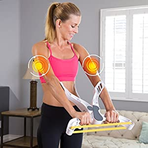 Ontel Wonder Arms Total Workout System Resistance Training Bands, White