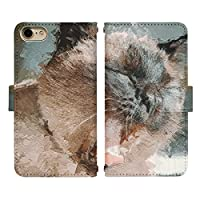 AQUOS sense3 SH-M12 ベルトあり 手帳型 スマホケース スマホカバー di840(K) 猫 ねこ ネコ 動物 アニマル アクオスフォン アクオスホン スマートフォン スマートホン 携帯 ケース アクオス アクオスセンス3 手帳 ダイアリー フリップ スマフォ カバー