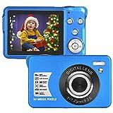 Appareil Photo Numérique 1080P Full HD 30 Mégapixels Appareil Photo Numerique 2,7 Pouces LCD Appareil Photo Compact avec Zoom 8X pour Les étudiants Adultes Seniors Enfants
