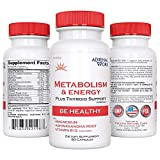 AdrenalWork - Metabolism Booster for Weight Loss - Burn Fat, Curb Hunger, Boost Energy - Advanced Wellness Formula That is The #1 Energy and Metabolism Booster for Women and Men!